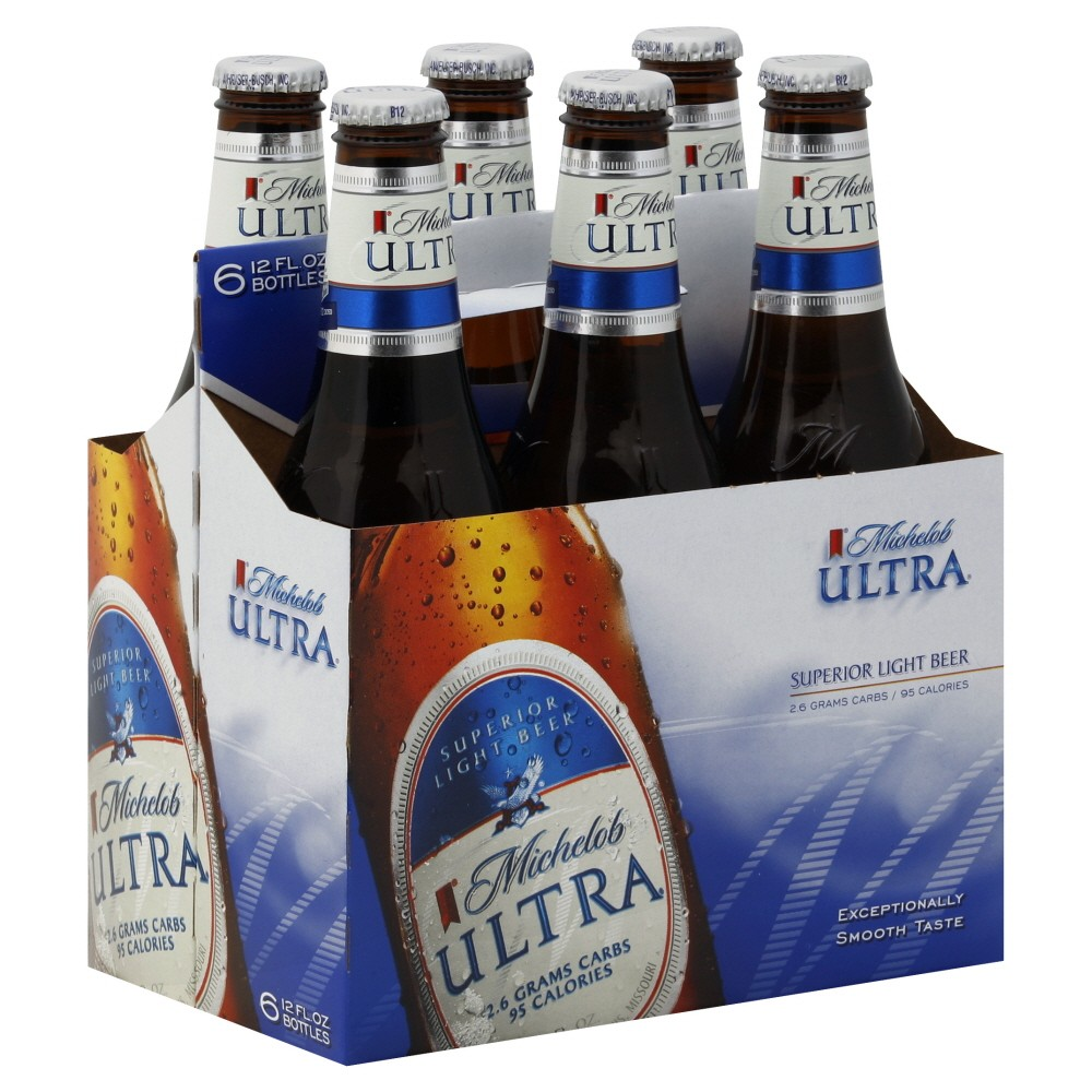 Michelob Ultra Bottle 6 Pack Island Wines And Spirits