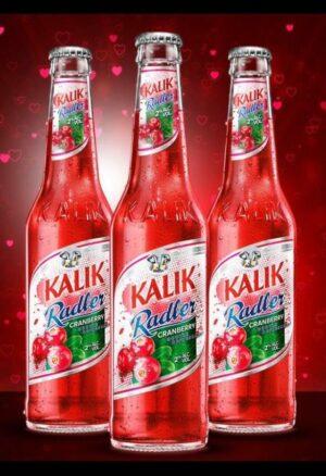 Kalik Cranberry Radler bottle 6 pack