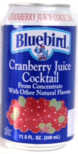 Blue Bird Cranberry 12oz case (24)