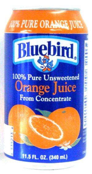 Blue Bird Orange 12oz each