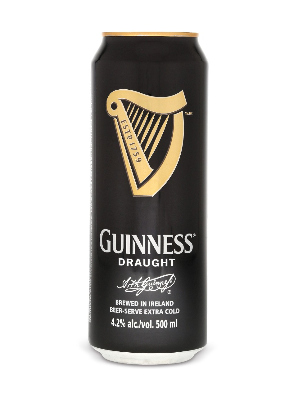 Guinness Draught 16oz can 6 pack