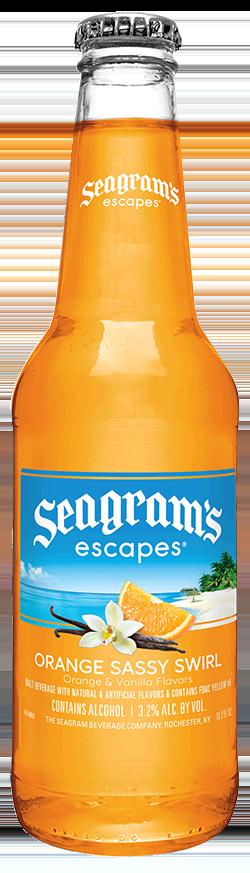 Seagrams Coolers Orange 6 Pack