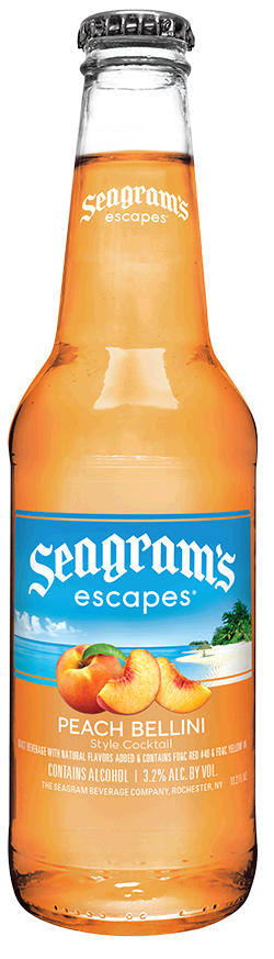 Seagrams Coolers Peach Case